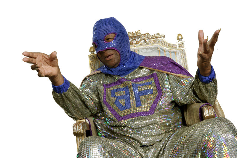 At 74 years old, the caped rap pioneer Blowfly isn't putting down the mic. He's set to perform March 1 at Kala Bar in Downtown Jacksonville and March 3 at Nobby's in St. Augustine.