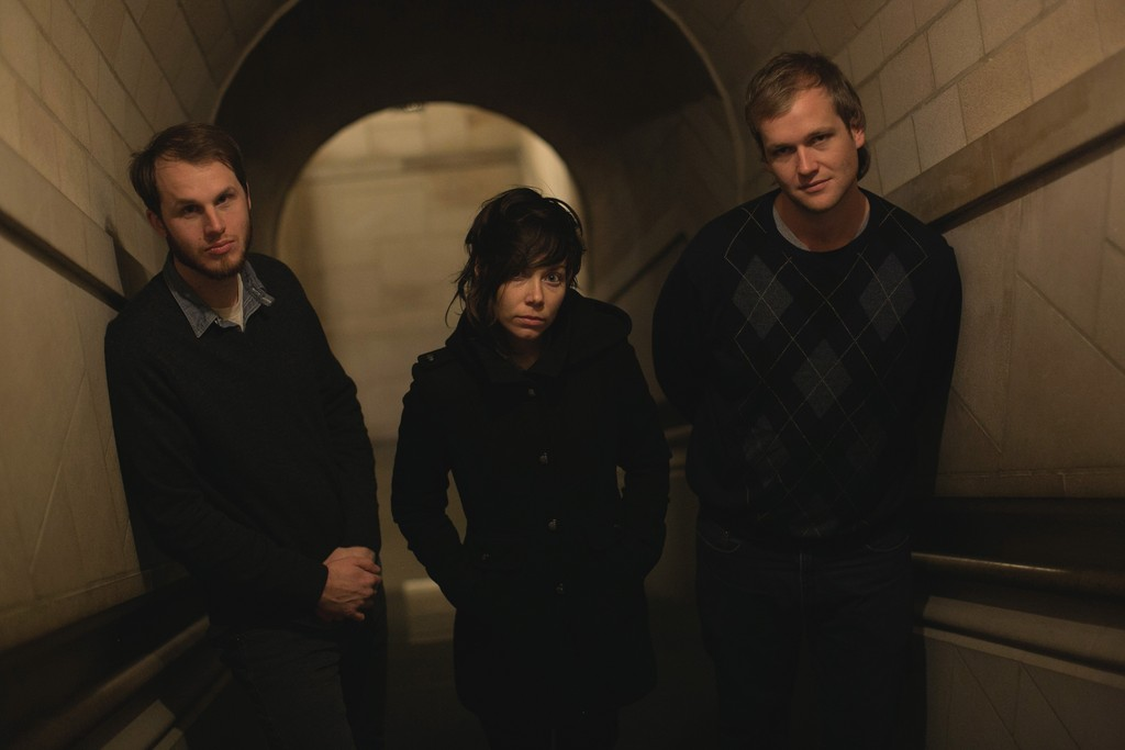 Three-piece contemporary rock band Mount Moriah of Durham, N.C., climbs onstage March 7 at Jack Rabbits in San Marco.