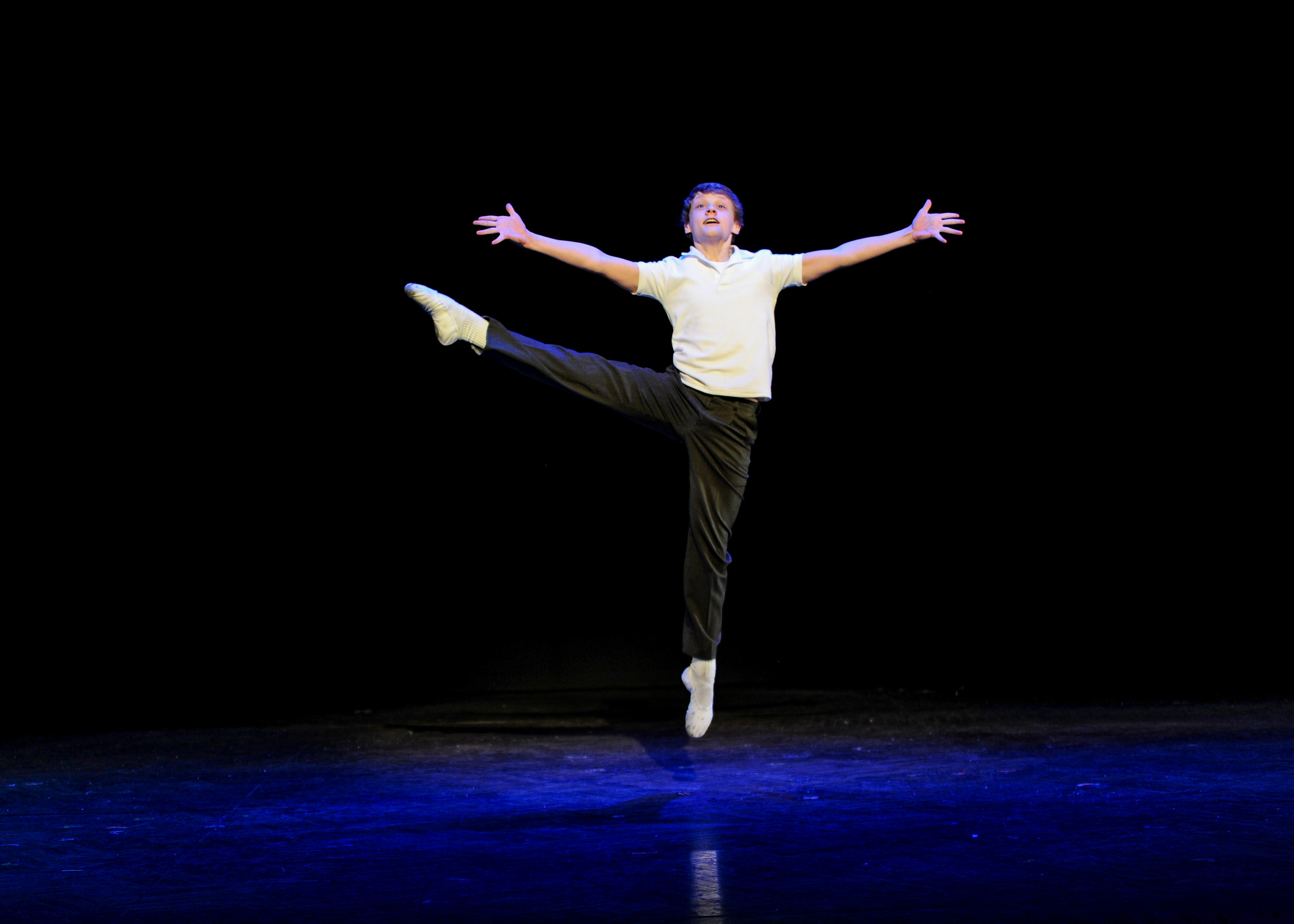 "Ben Cook  as Billy in ""Billy Elliot the Musical."""