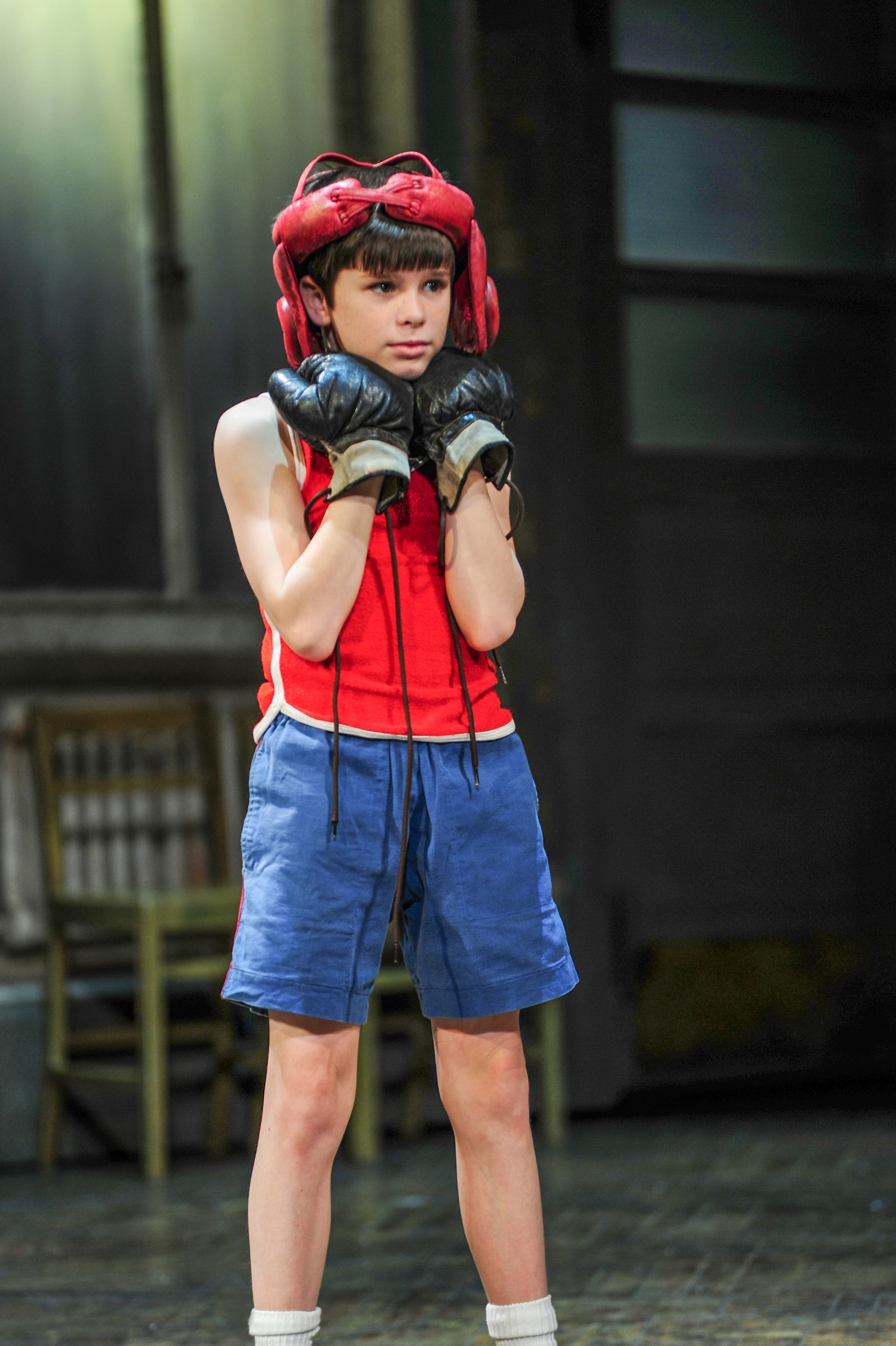 "Mitchell Tobin as Billy in ""Billy Elliot the Musical."""