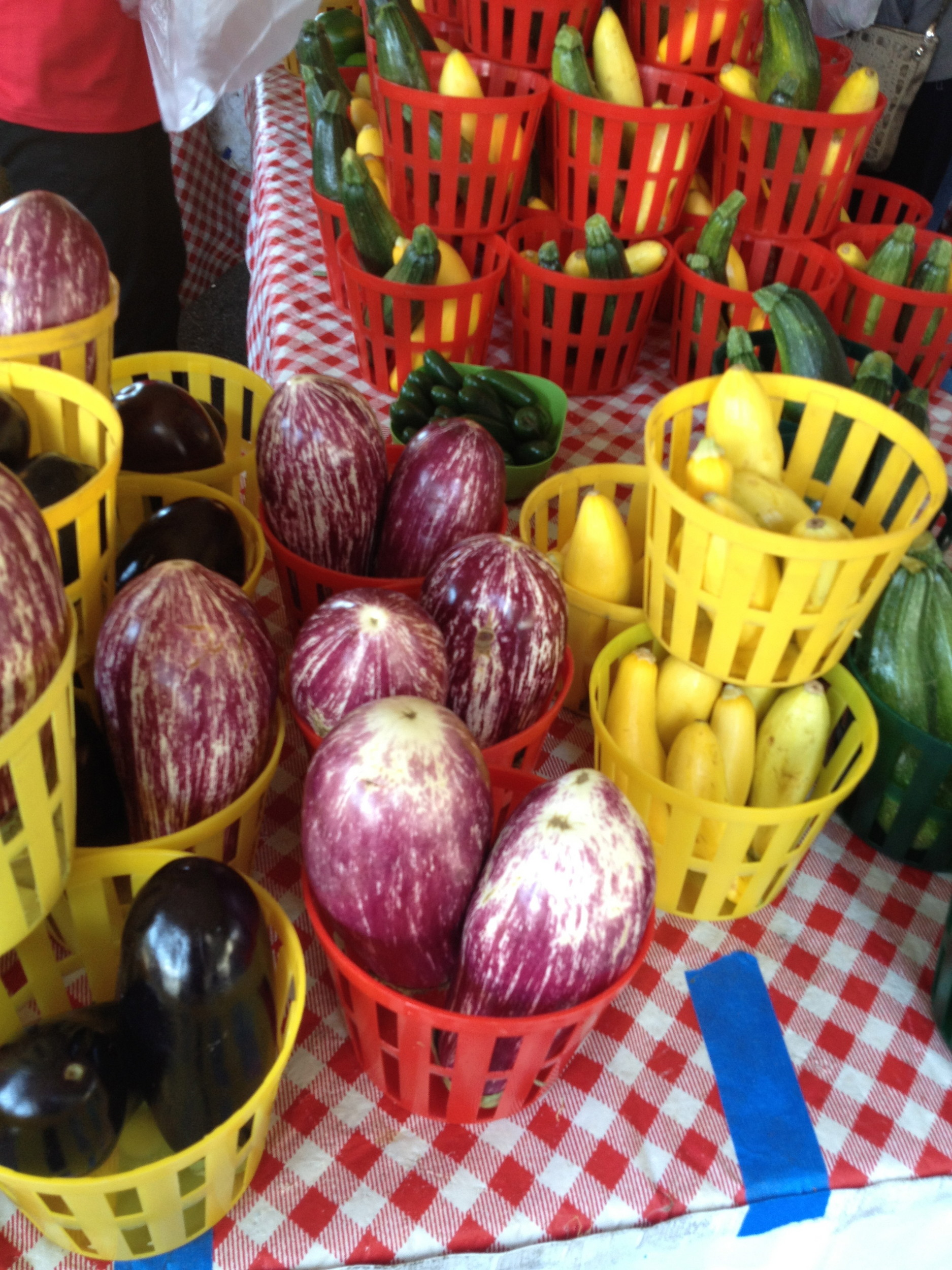 The farmers market is one of RAM's most popular features. FUN FACT: Aubergines contain more nicotine than any other edible plant, though, the amount is considered negligible.