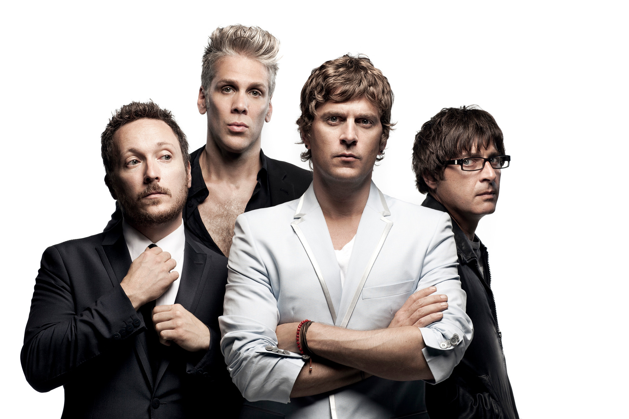 "A collective songwriting effort by Matchbox Twenty — Paul Doucette (from left), Kyle Cook, Rob Thomas and Brian Yale — on ""North"" was validated when the 2012 album hit No. 1 on the Billboard charts."