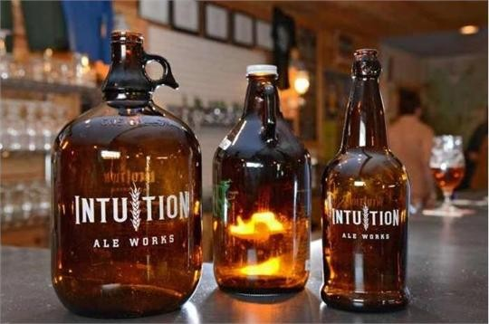 Intuition Ale Works is one of the companies wanting to sell 64-ounce growlers.