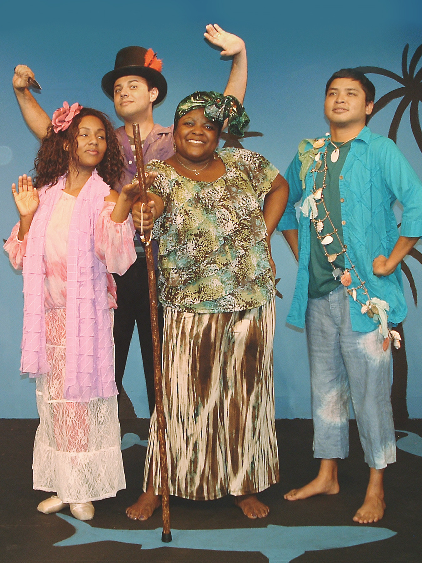 Atlantic Beach Experimental Theatre stages the family musical �Once on This Island� March 21-24 and 28-30 at Adele Grage Cultural Center in Atlantic Beach.