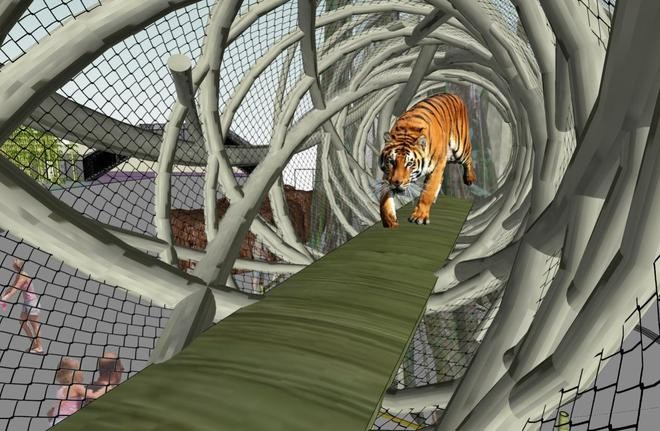 Artist rendering of Tiger Trail