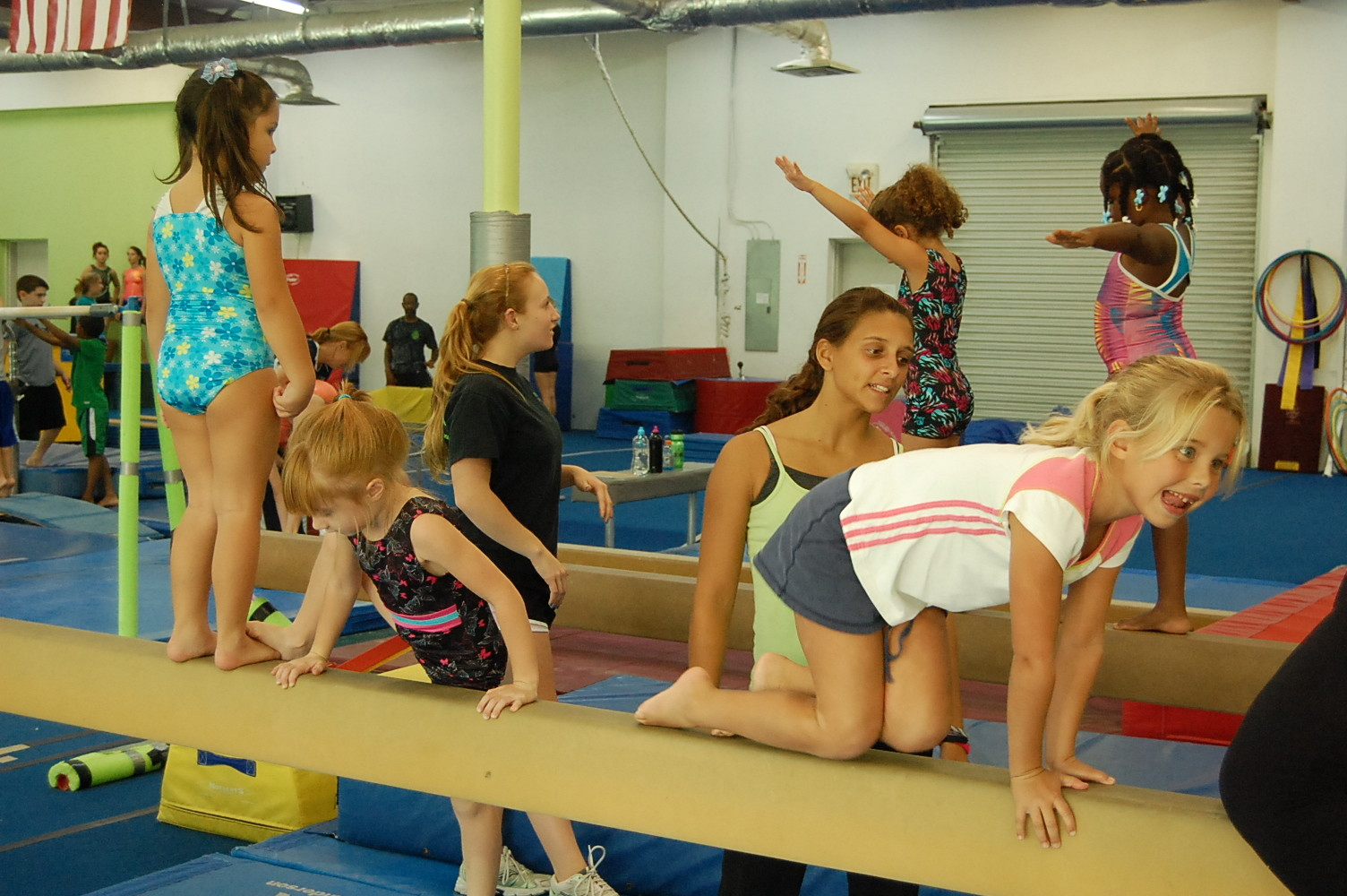 Gymnastics instruction and tumbling classes, for kids 18 months old and older, is available all year long at TNT Gymnastics & Fitness Complex on St. Johns Bluff Road South, on Jacksonville's Southside.