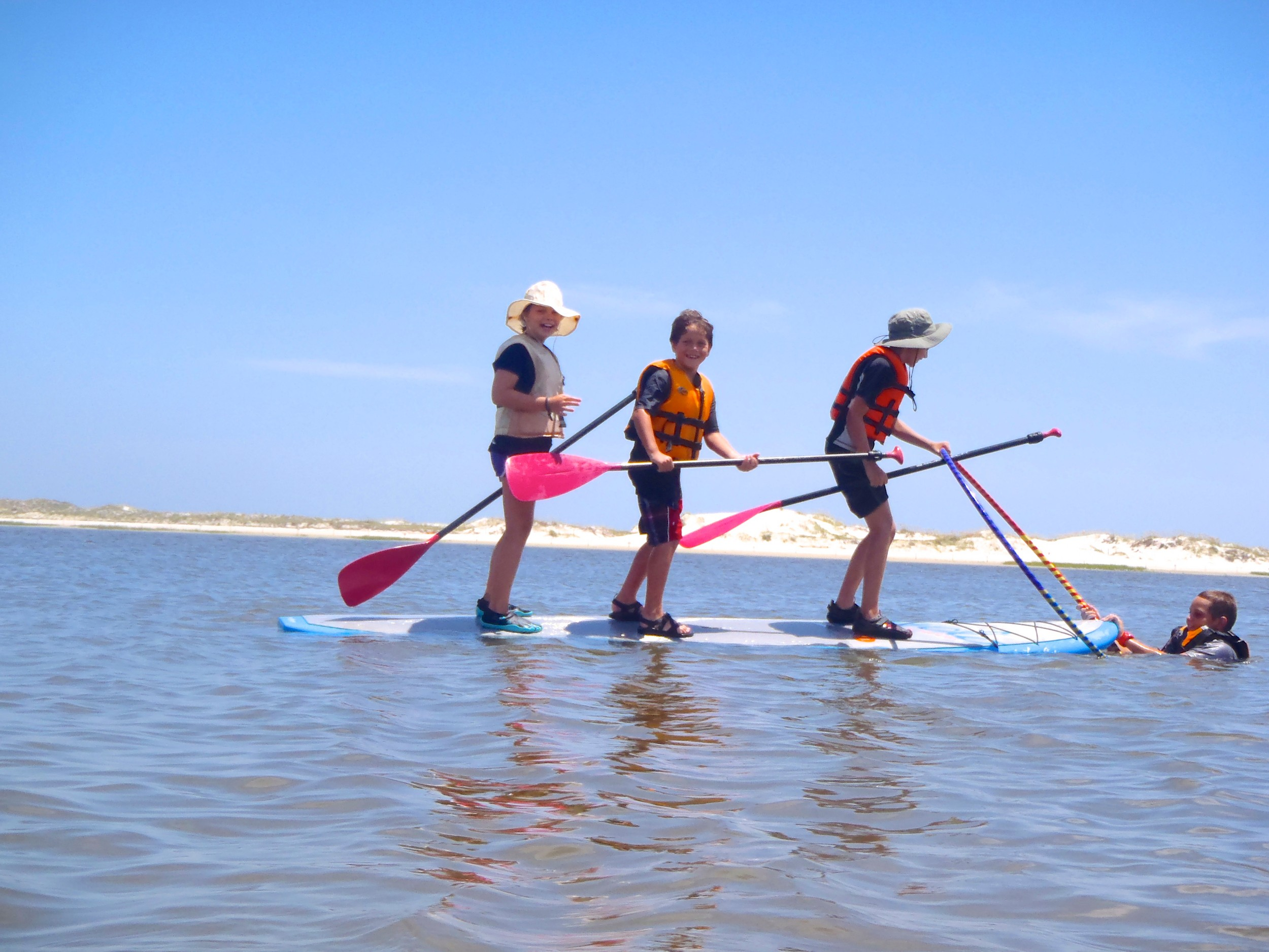 Kayaks, standup paddleboards and bicycles are all part of the fun and learning at some of Northeast Florida's most beautiful and pristine ecosystems. Kayak Amelia's campers also experience journaling, crafting and hands-on activities, on Heckscher Drive on Jacksonville's Northside.
