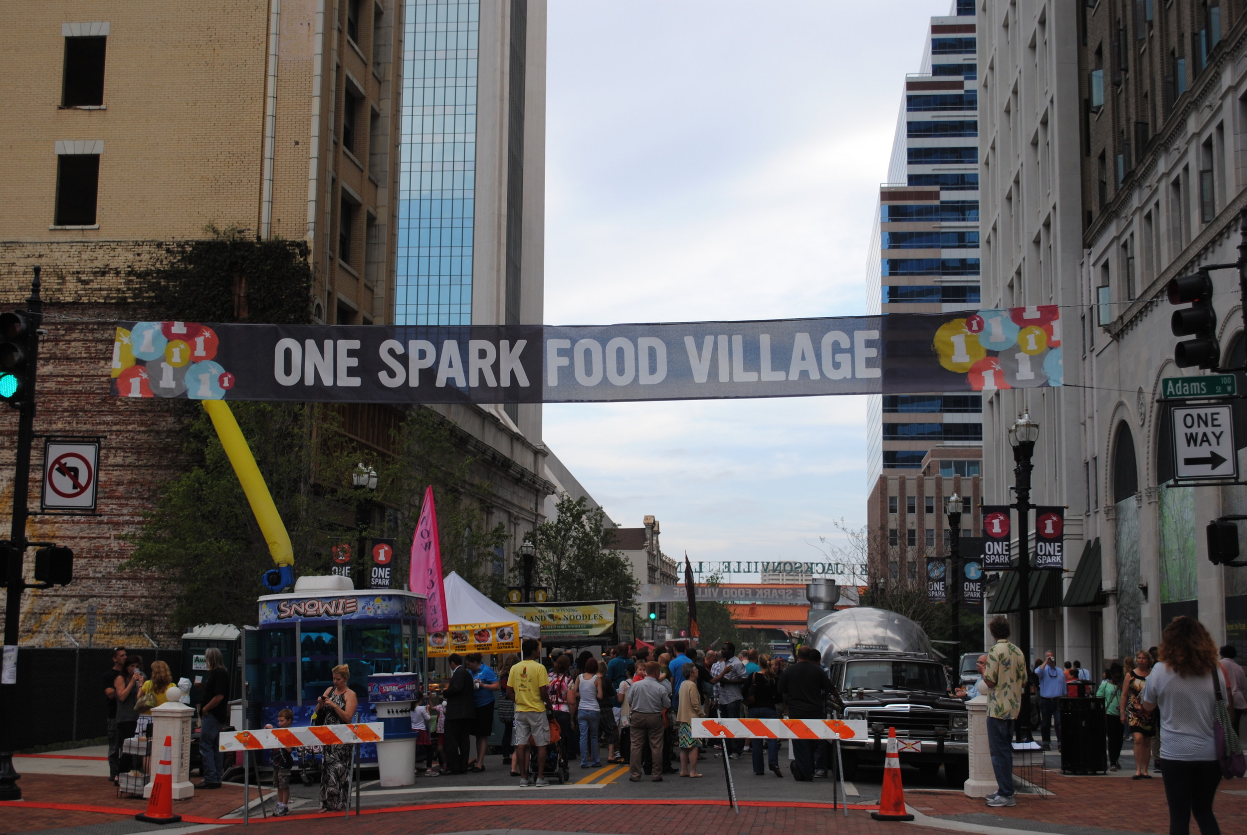 One Spark Food Village