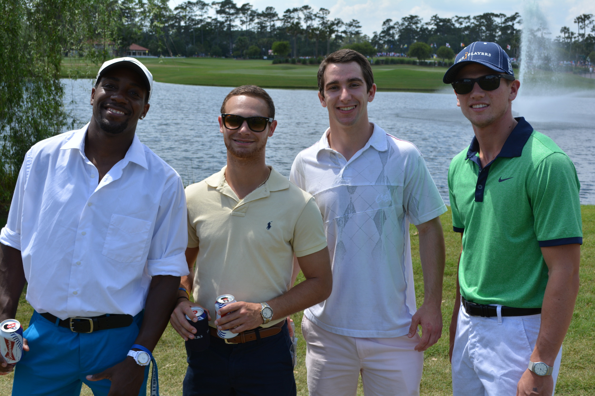 Brandon Weinstein, David Washington, Mike Aloise, Trevor Bland