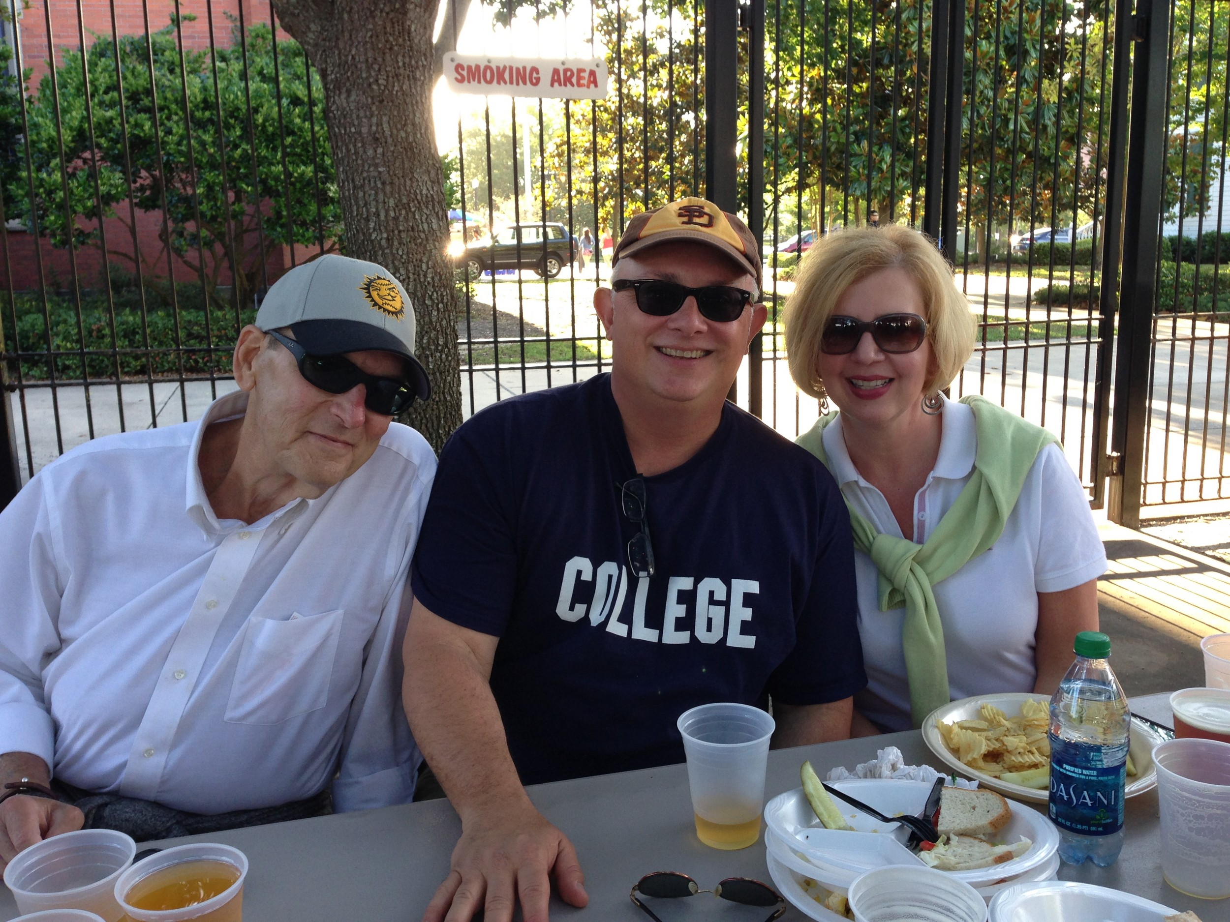 William Calhoun, Ron and Susan Swaniger