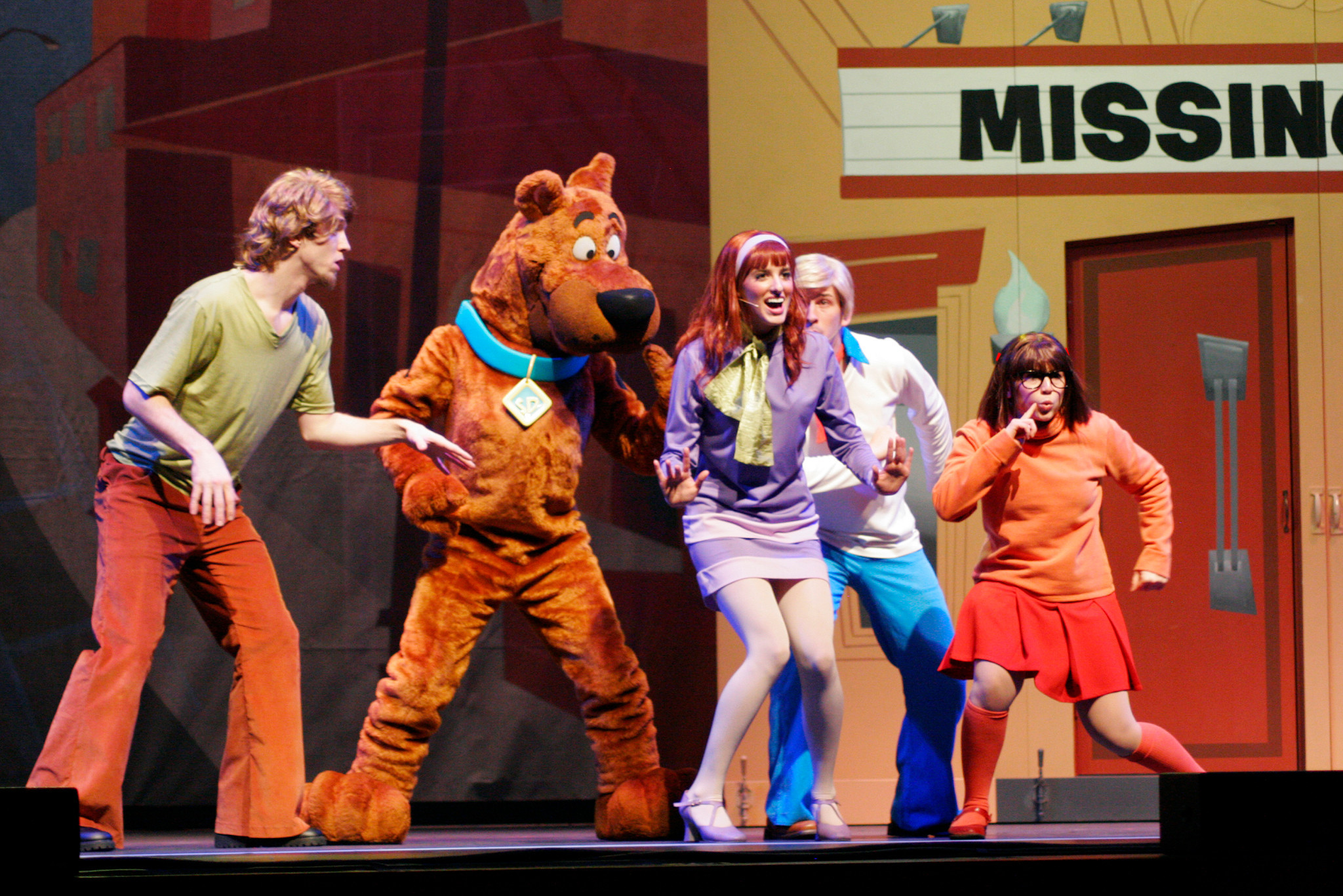 """Scooby-Doo Live! Musical Mysteries,"" presented by Warner Bros. Consumer Products and Life Like Touring."