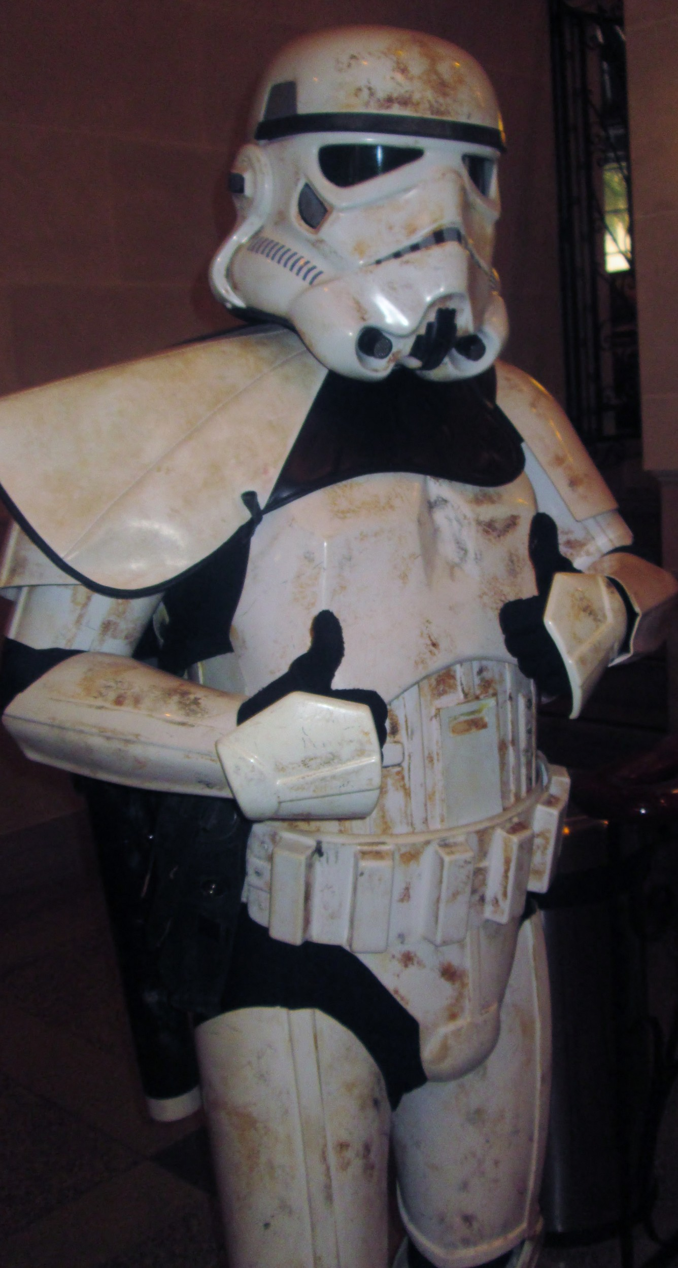 Michael Boyce as a Stormtrooper