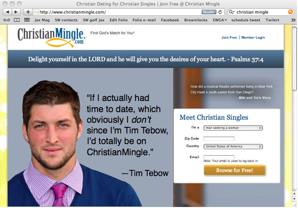 ChristianMingle.com spokesperson