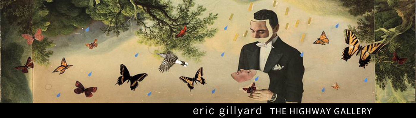 Artist Eric Gillyard's work is featured throughout June on the Highway Gallery, a public art project on digital billboards throughout Jacksonville.