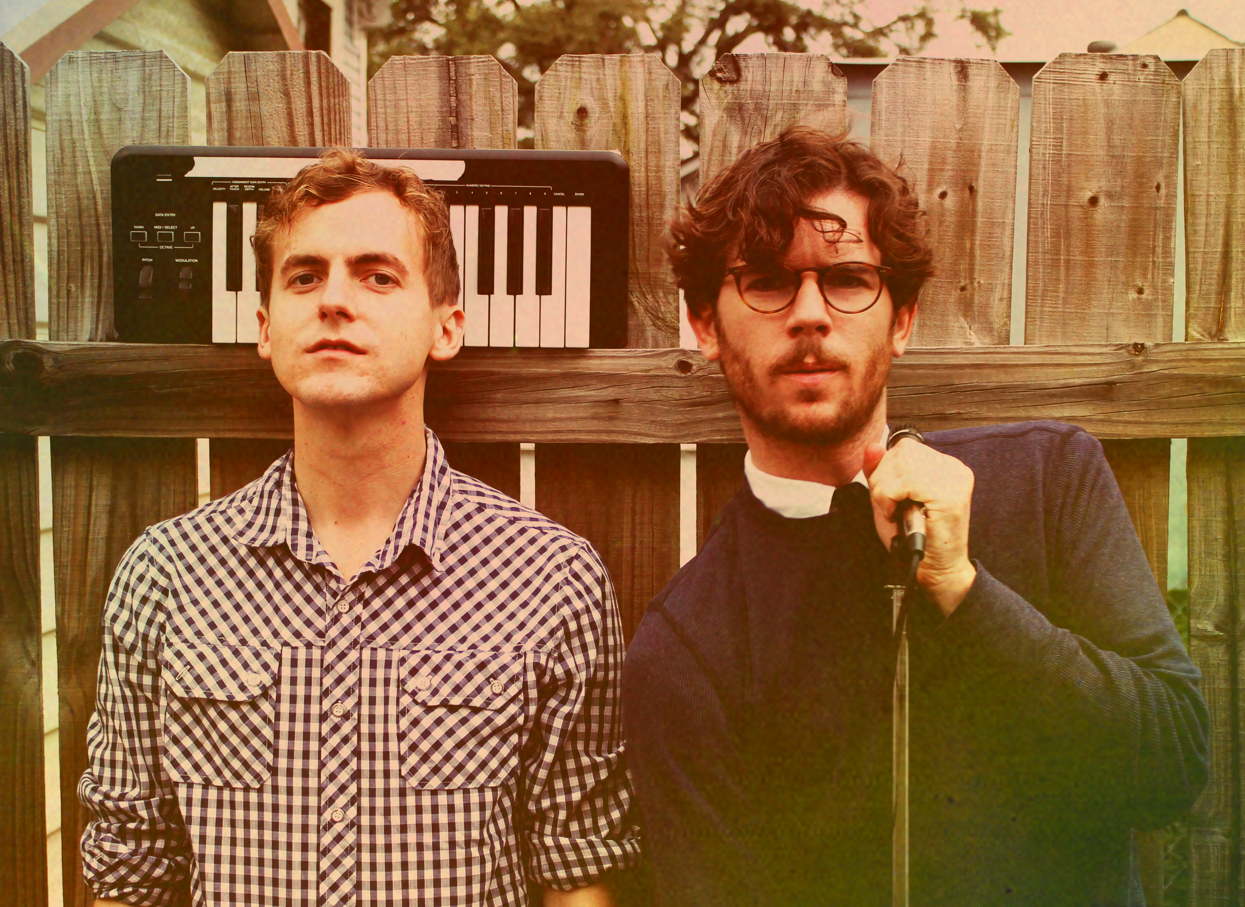 Generationals' Ted Joyner (left) and Grant Widmer mesh traditional New Orleans music styles with jangly indie rock.