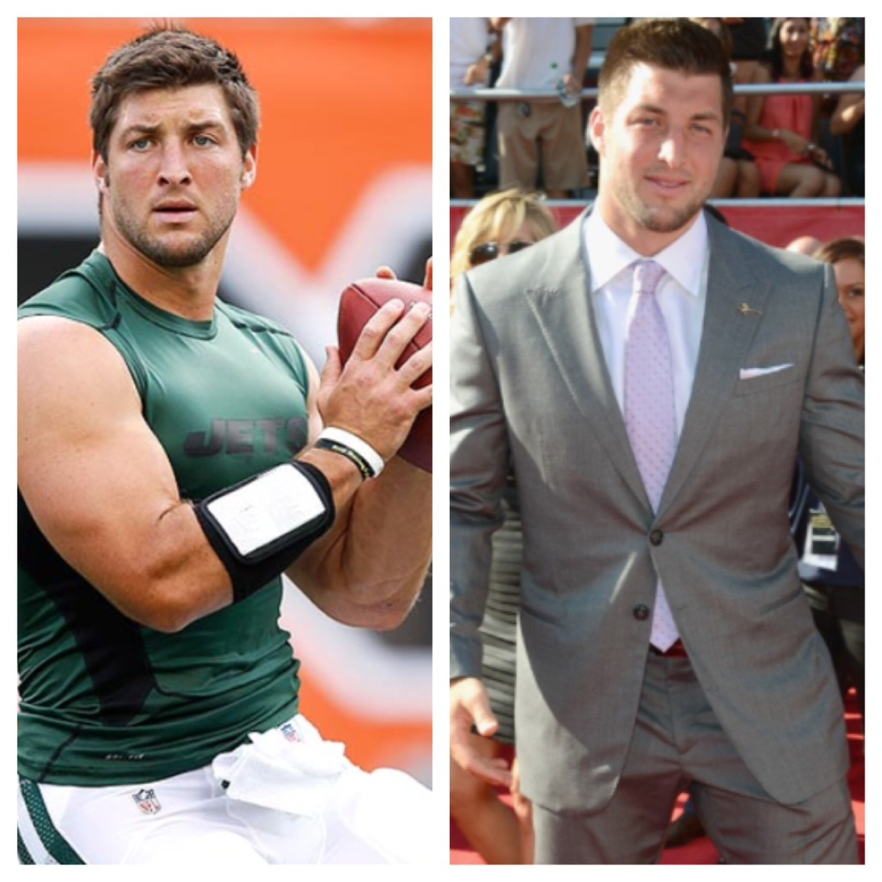 Tim Tebow look-alike (they're in high demand for commercials)