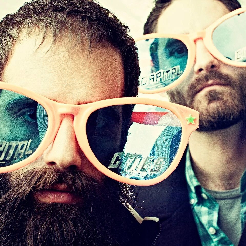 Capital Cities' front men and vocals, Sebu Simonian and Ryan Merchant