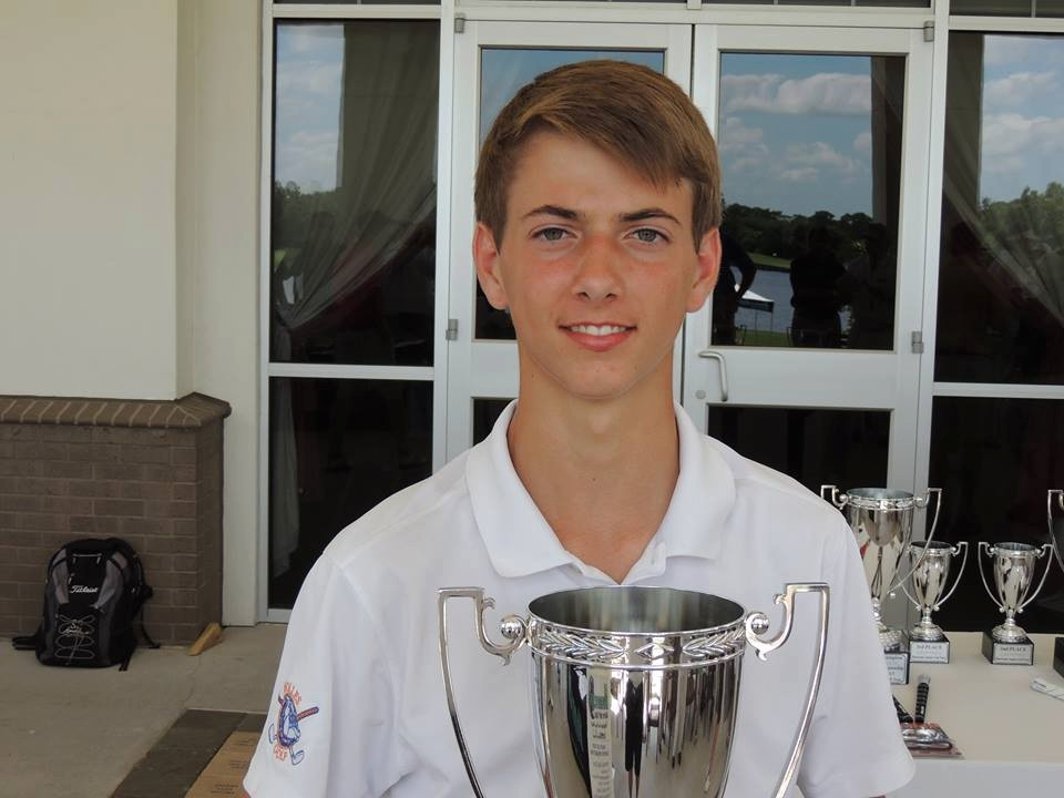 First Tee Member Jake Nelson was the boys 15-18 division winner at the Junior Amateur Golf Association Jacksonville City Junior Championship held at Deerwood Country Club June 17-18.