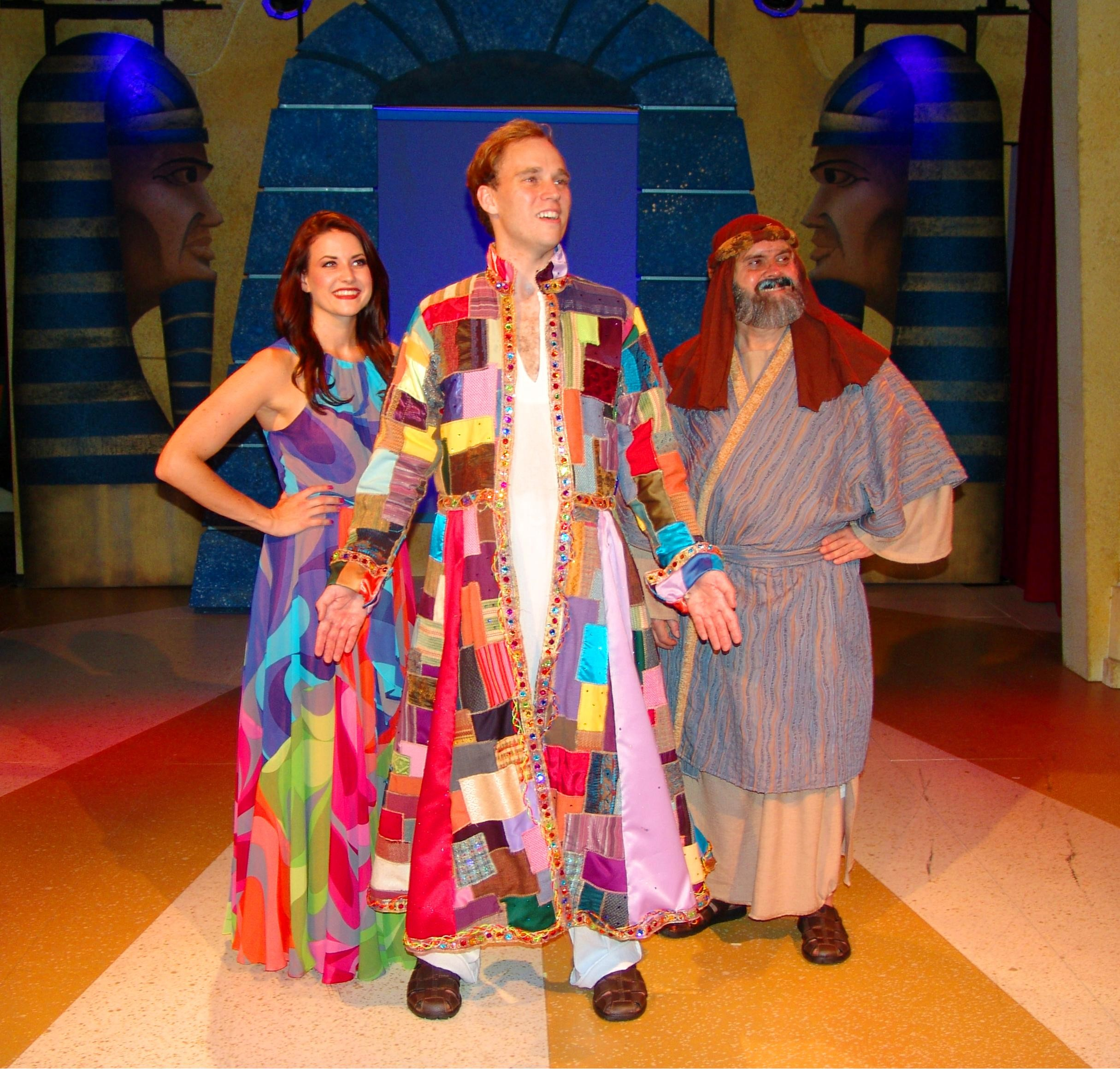 "Alex Jorth is the lead in ""Joseph and the Amazing Technicolor Dreamcoat."""