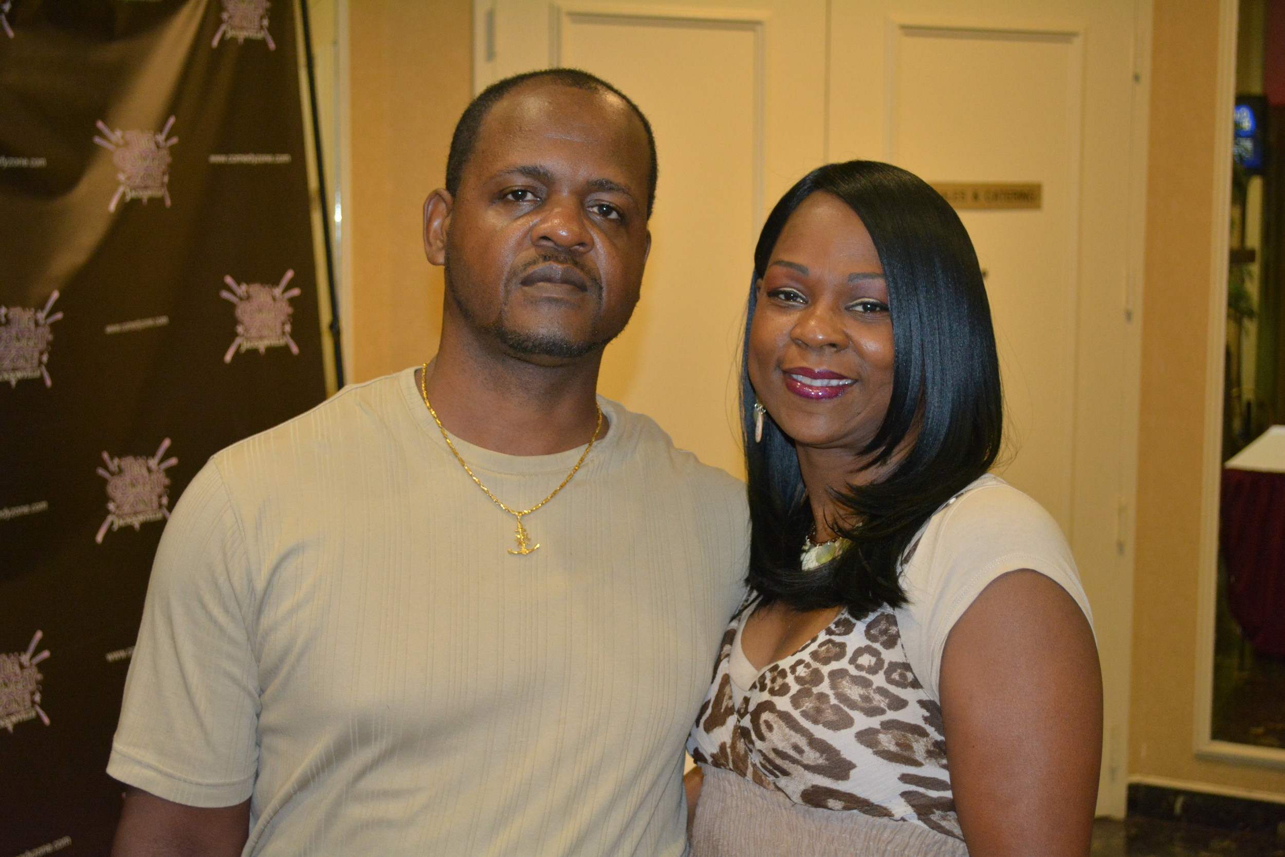 Victor  and Tracey Sapp