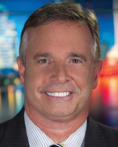 "BRUCE HAMILTON, co-anchor, ""The Morning Show,"" WJXT Channel 4 
