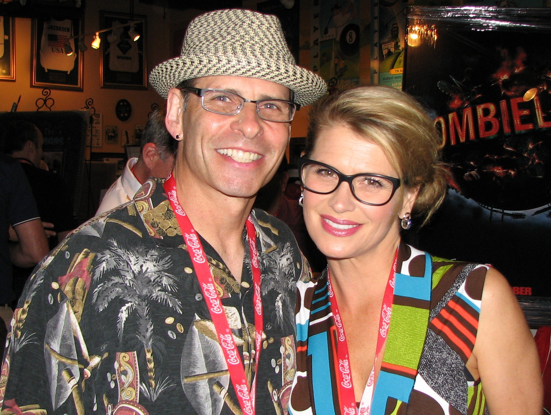 World Champion Pair Skater Lloyd Eisler and actress Kristy Swanson