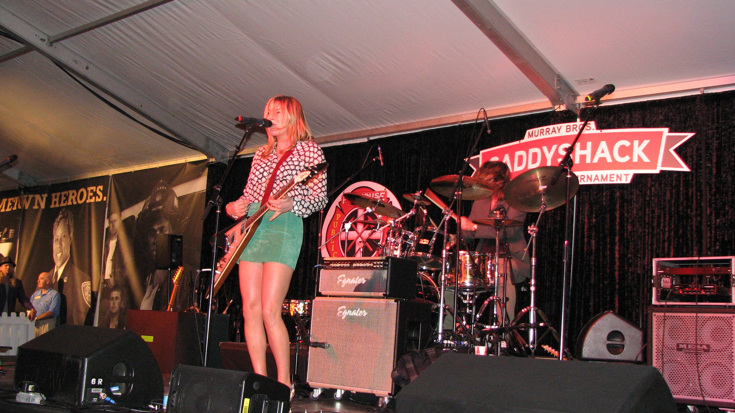 Indie rocker queen Grace Potter performs