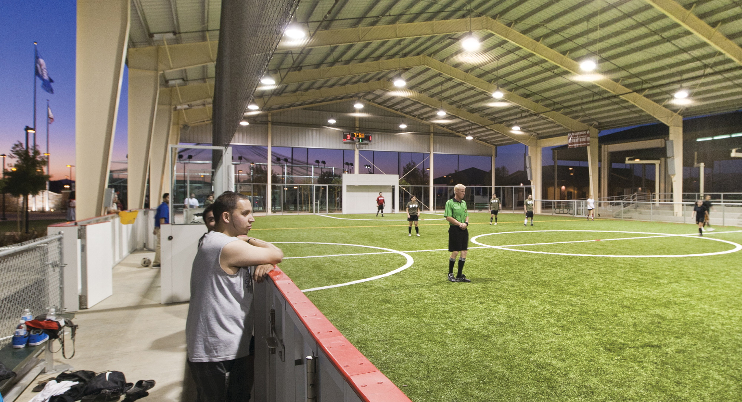 Soccer players are not forgotten in the plans for the Big League Dreams Sports Park near Middleburg. In addition to five baseball fields, there is an indoor pavilion that can be used for soccer. The Clay County Board of Commissioners is considering the $19 million facility.