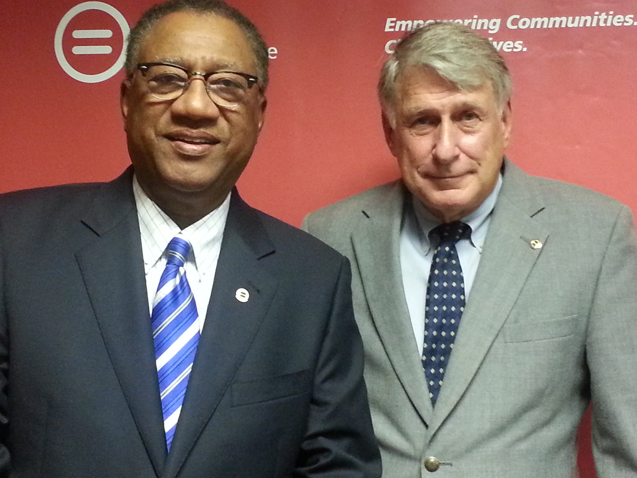 An active community leader, Jacksonville Urban League President Richard Danford (left) served as Chairman of the Board for Florida Coastal Law School and River Region Family Services. Senior Communications Advisor for Jacksonville Urban League, Erick Dittus has advised more than 100 C-level executives on leadership communications.