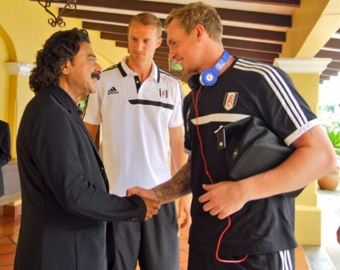 Shad Khan meets my new boyfriend David Stockdale.