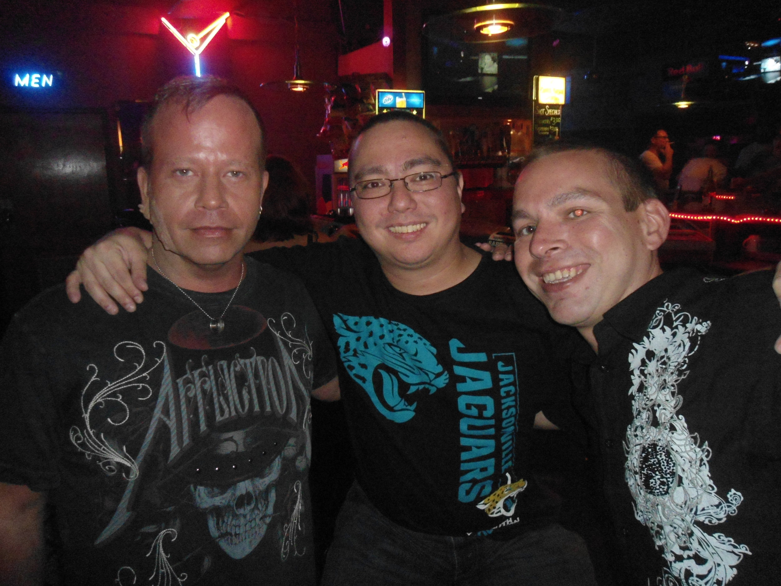 William France, Jonathan Heavey, Robert Torres