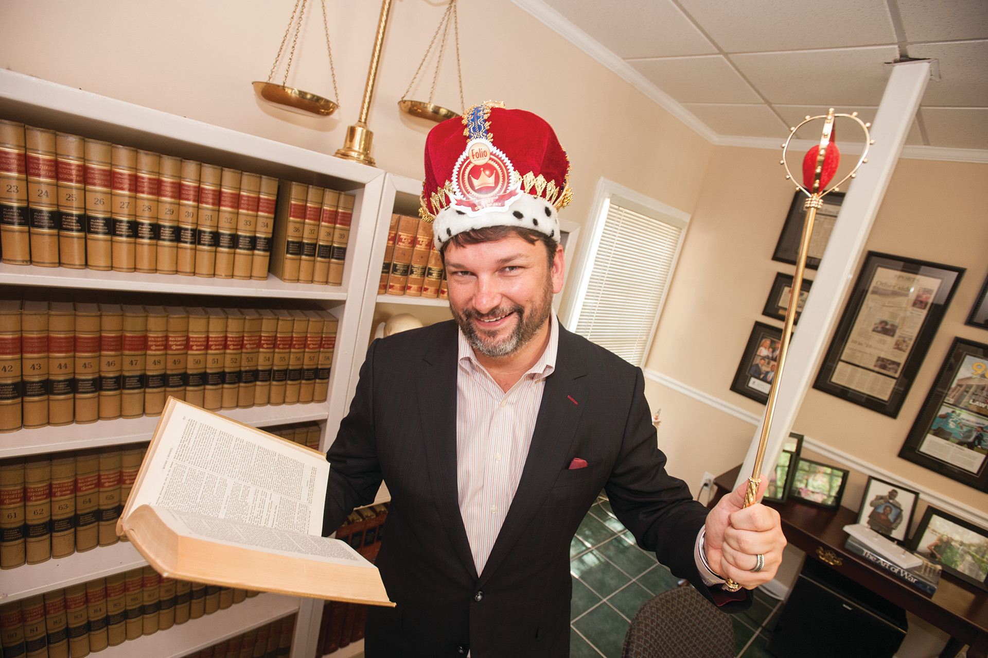 Folio Weekly readers crowned John M. Phillips Best Lawyer for the third year in a row and named him Best Righteous Crusader as well.