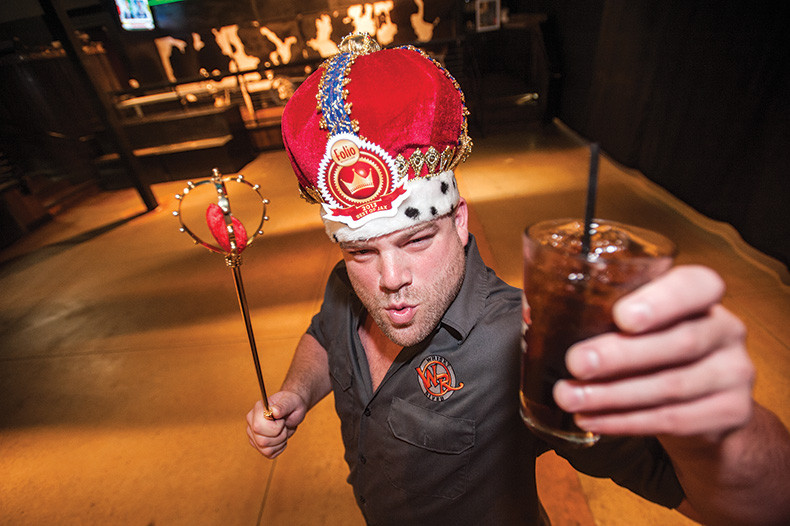 "Derek ""D. Rock"" McCray of Whisky Riverwon Best Bartender."