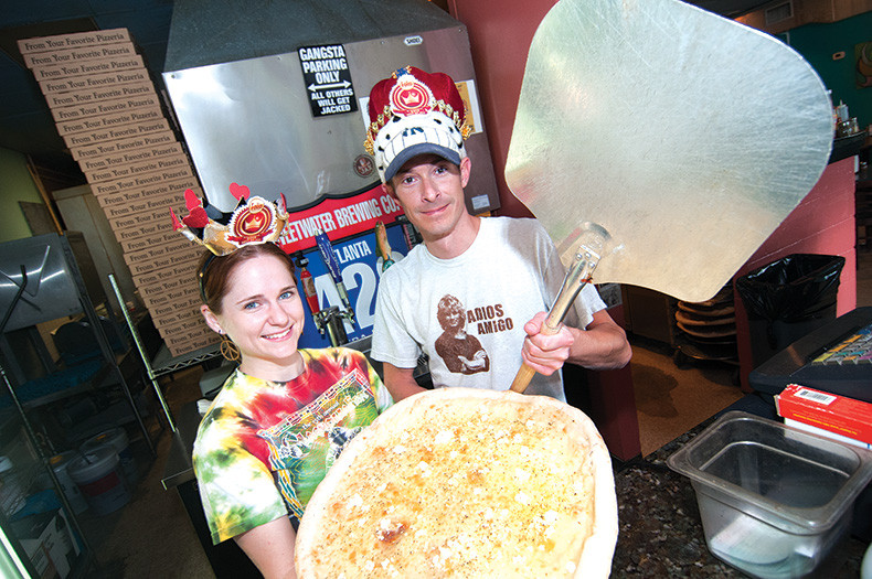 Moon River Pizza (with Christina Bray and Jonathan Philips) won Best Pizza on Amelia Island.