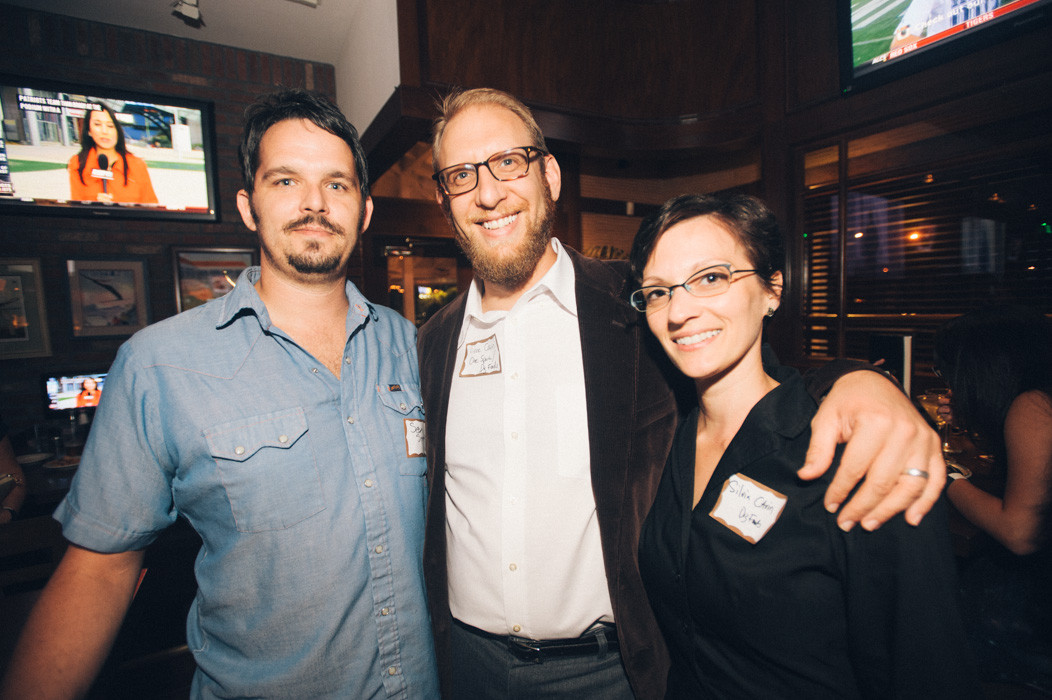 Sean Sigmon and Vince and Silvia Cavin from Best of Jax winner Dig Foods.