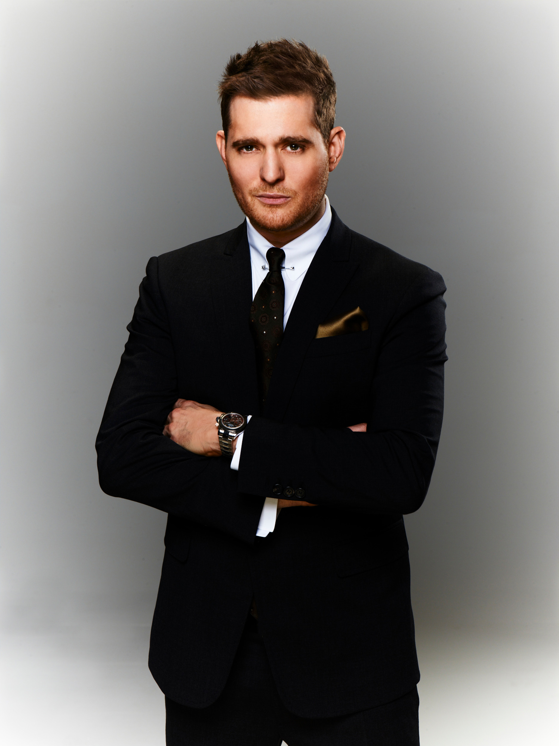 Grammy winning vocalist Michael Bublé croons his way on stage Oct. 29 at Veterans Memorial Arena in Downtown Jacksonville.