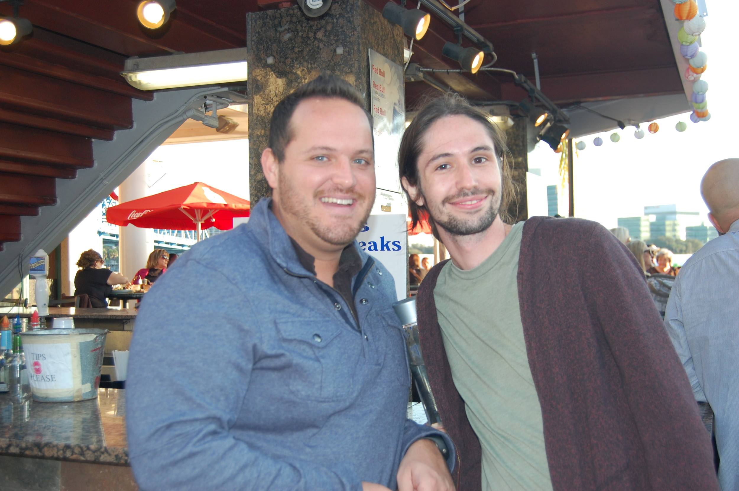 Brandon Heaps, Jeremy Hereford