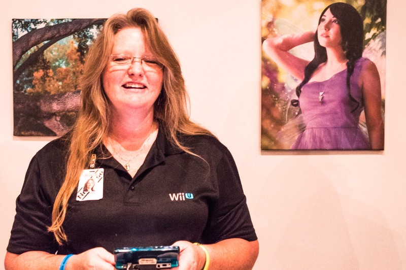 Sherry Kaswan with Nintendo