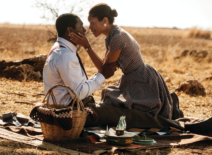 "EYE TO EYE: Nelson (Idris Elba) and Winnie Mandela (Naomie Harris) have different views on liberation in ""Mandela: Long Walk to Freedom,"" directed by Justin Chadwick."