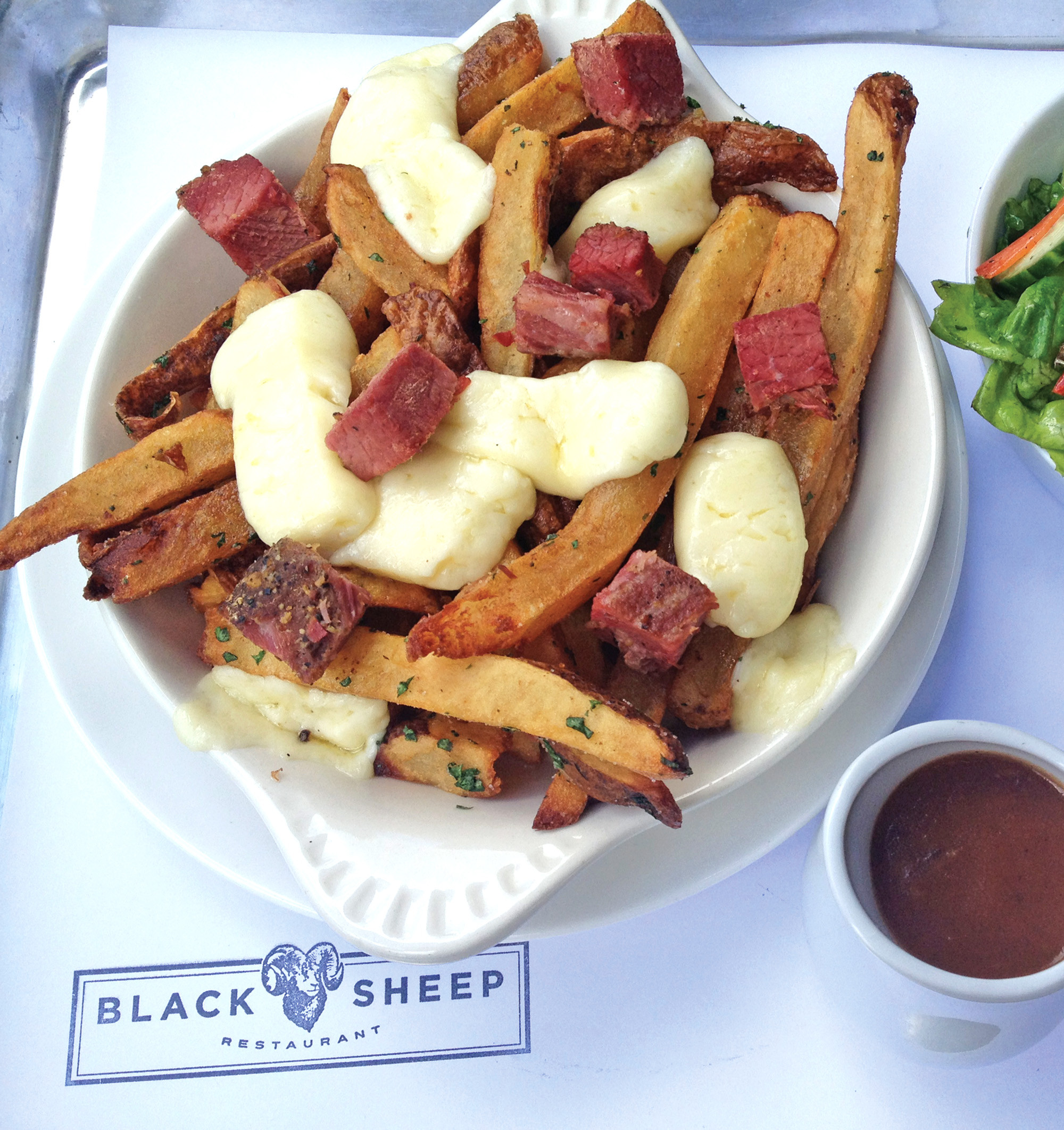 Best comfort food: Poutine from Blacksheep