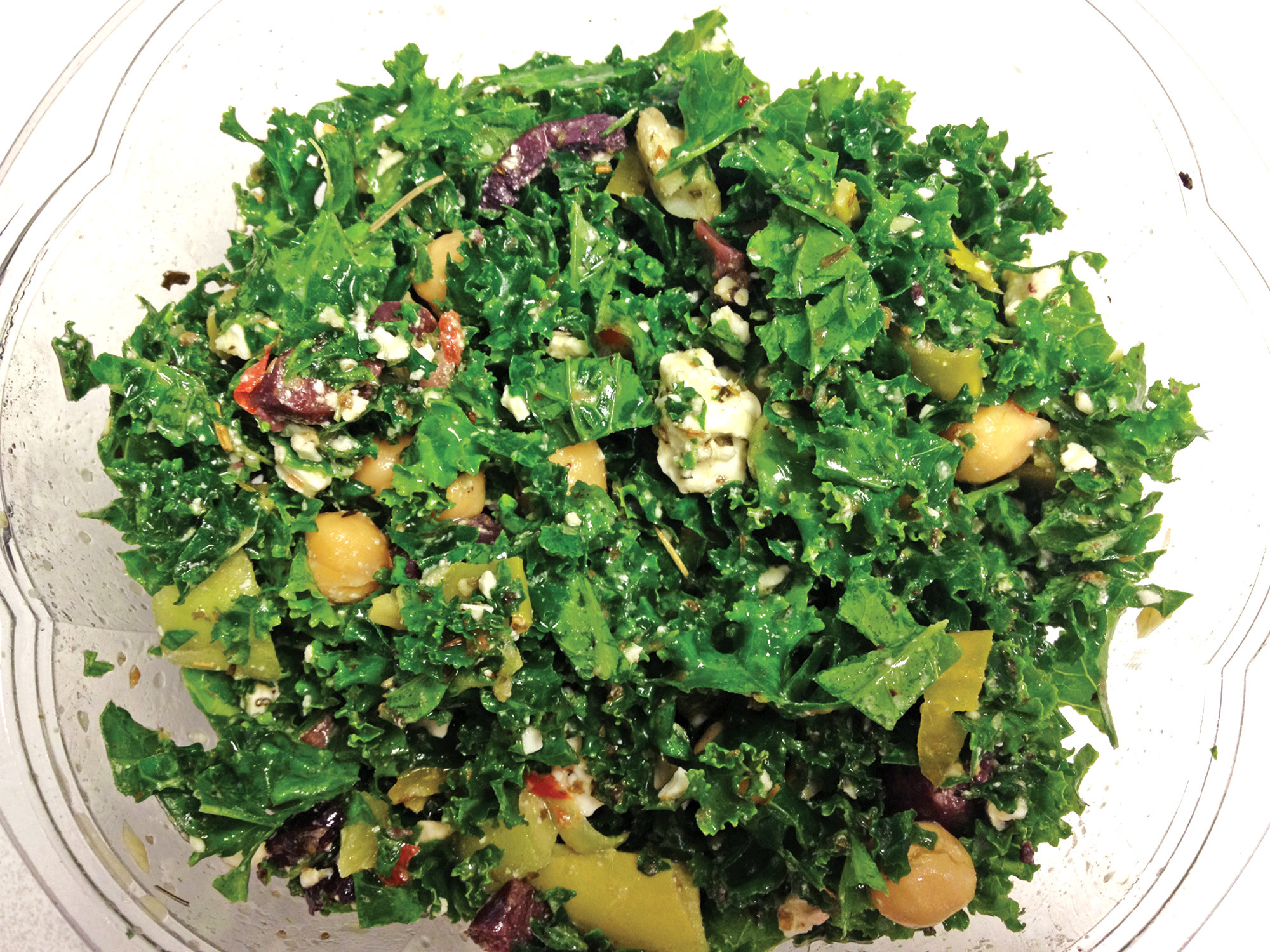 Best salad: Greek kale salad from Native Sun