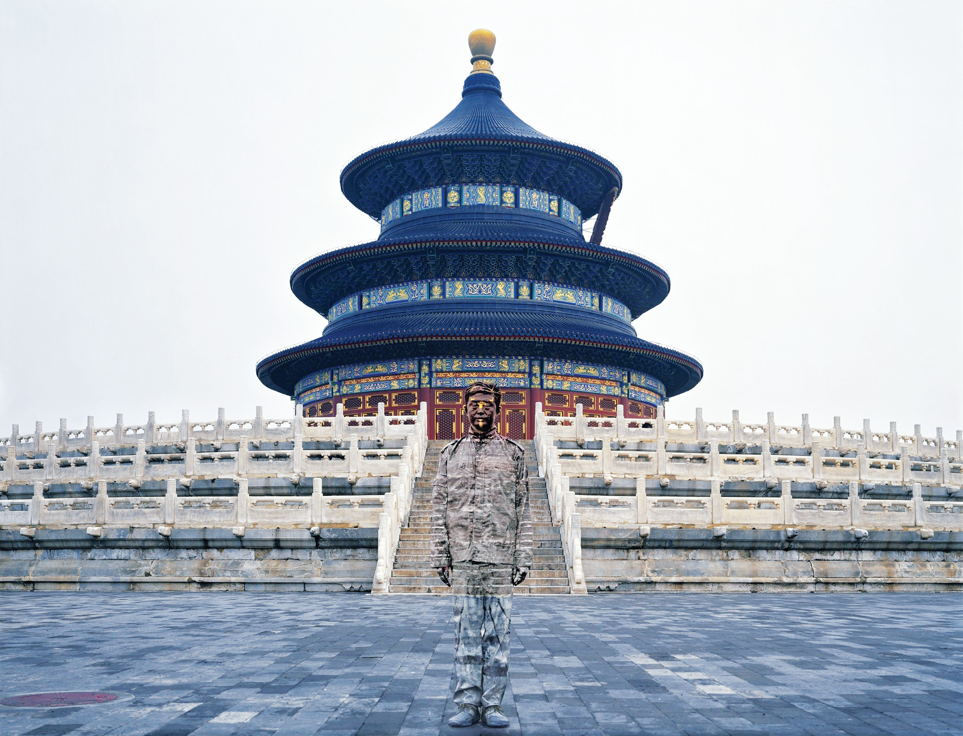 "GLIMMER MAN: Cecelia Paredes' ""Bolin No. 92, Temple of Heaven"" is a featured piece in ""The Camera's Eye"" exhibit 