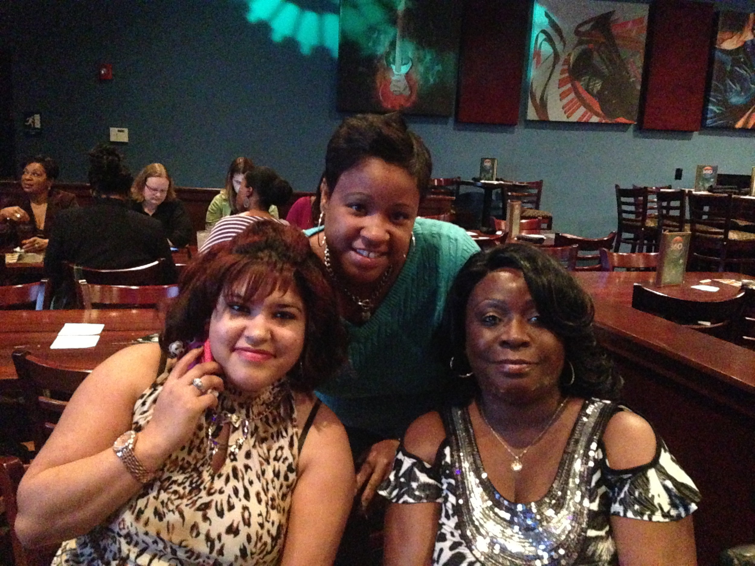 Sonia Torres, Kathryn Williams, Aeshia Richardson