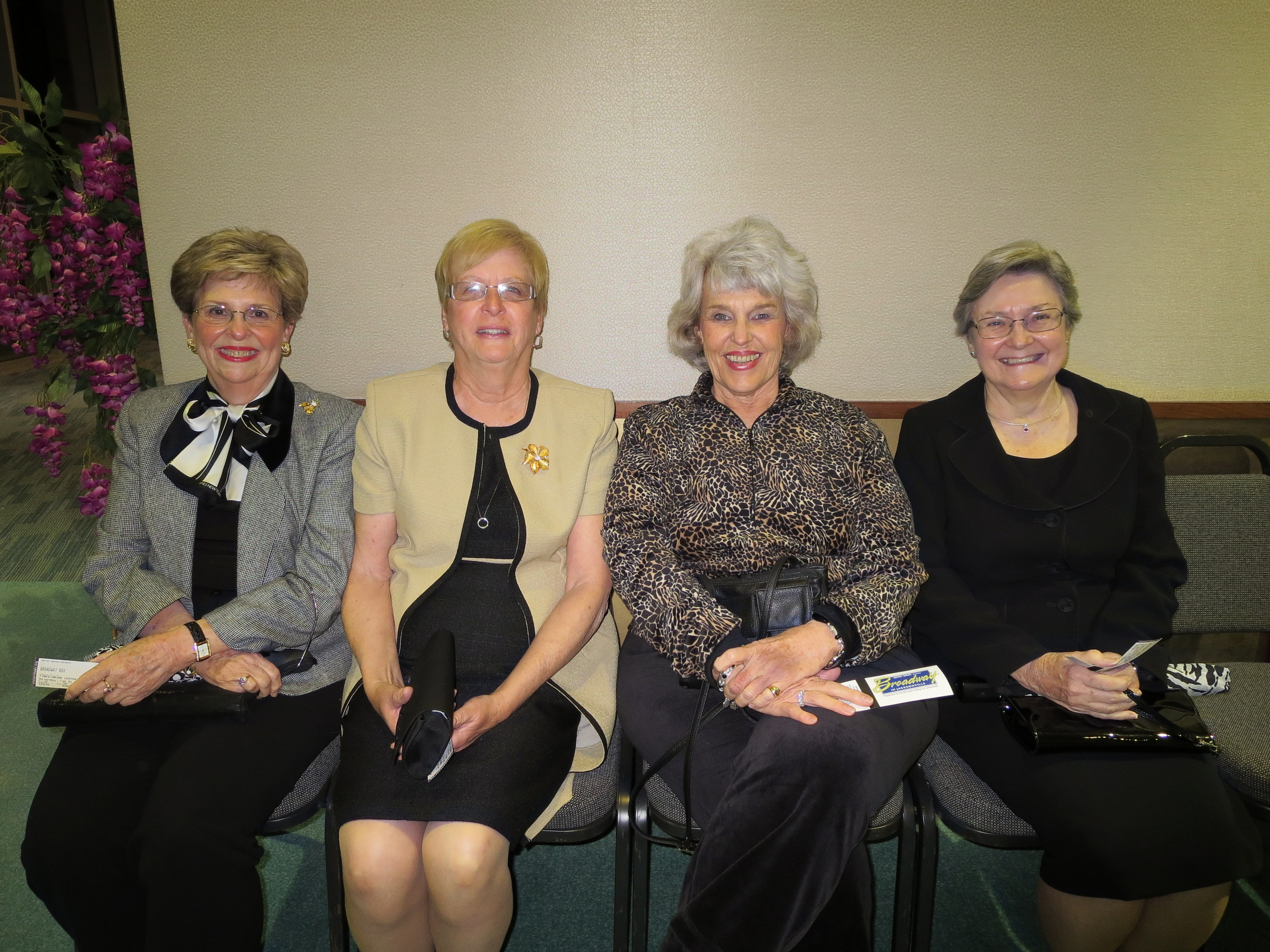 Beth Harvey, Helen Mabe, Phyllis Lewis, Betty Stilley