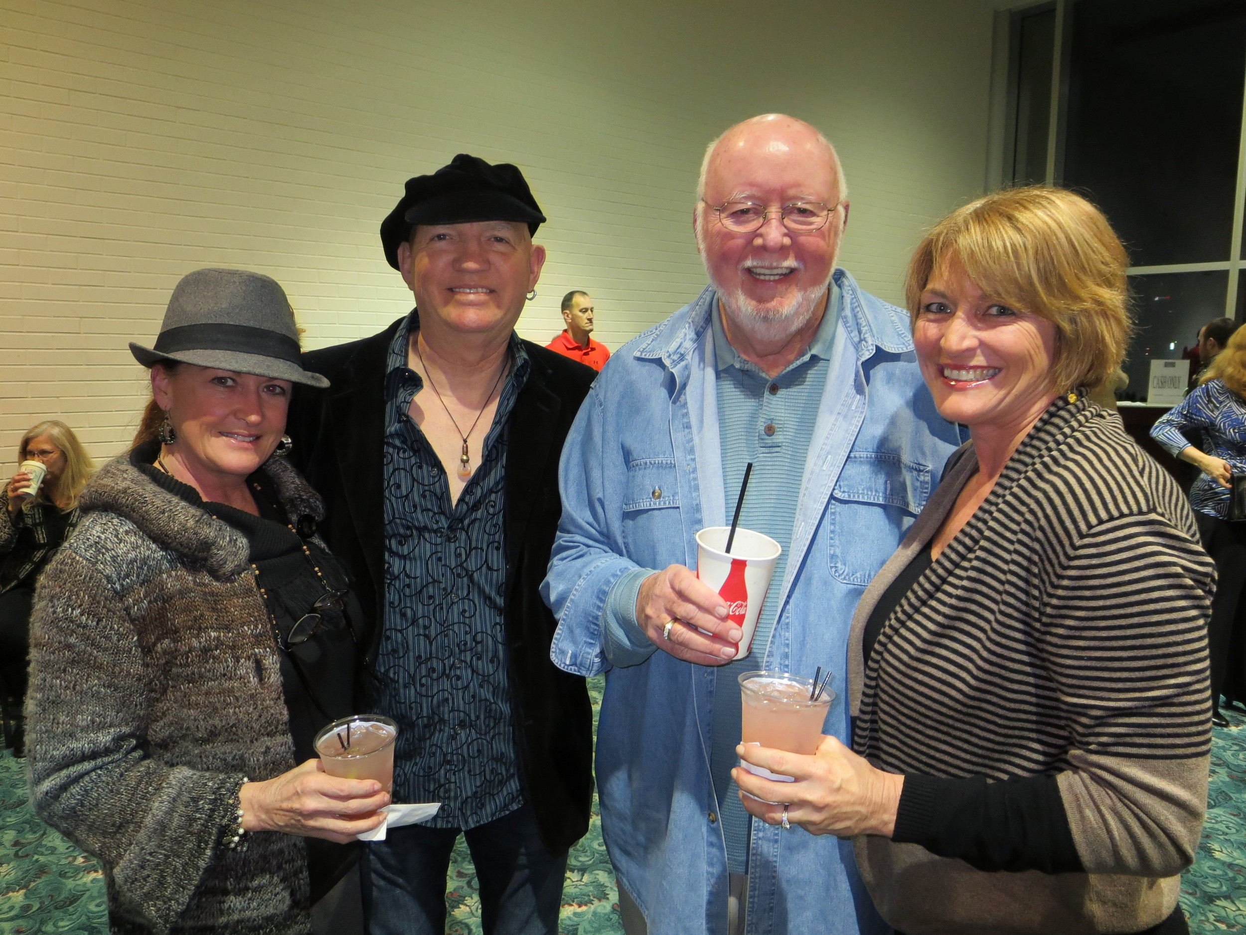 Jess Brinkley, Ron Norris, Jim Sherry, Tanya Street