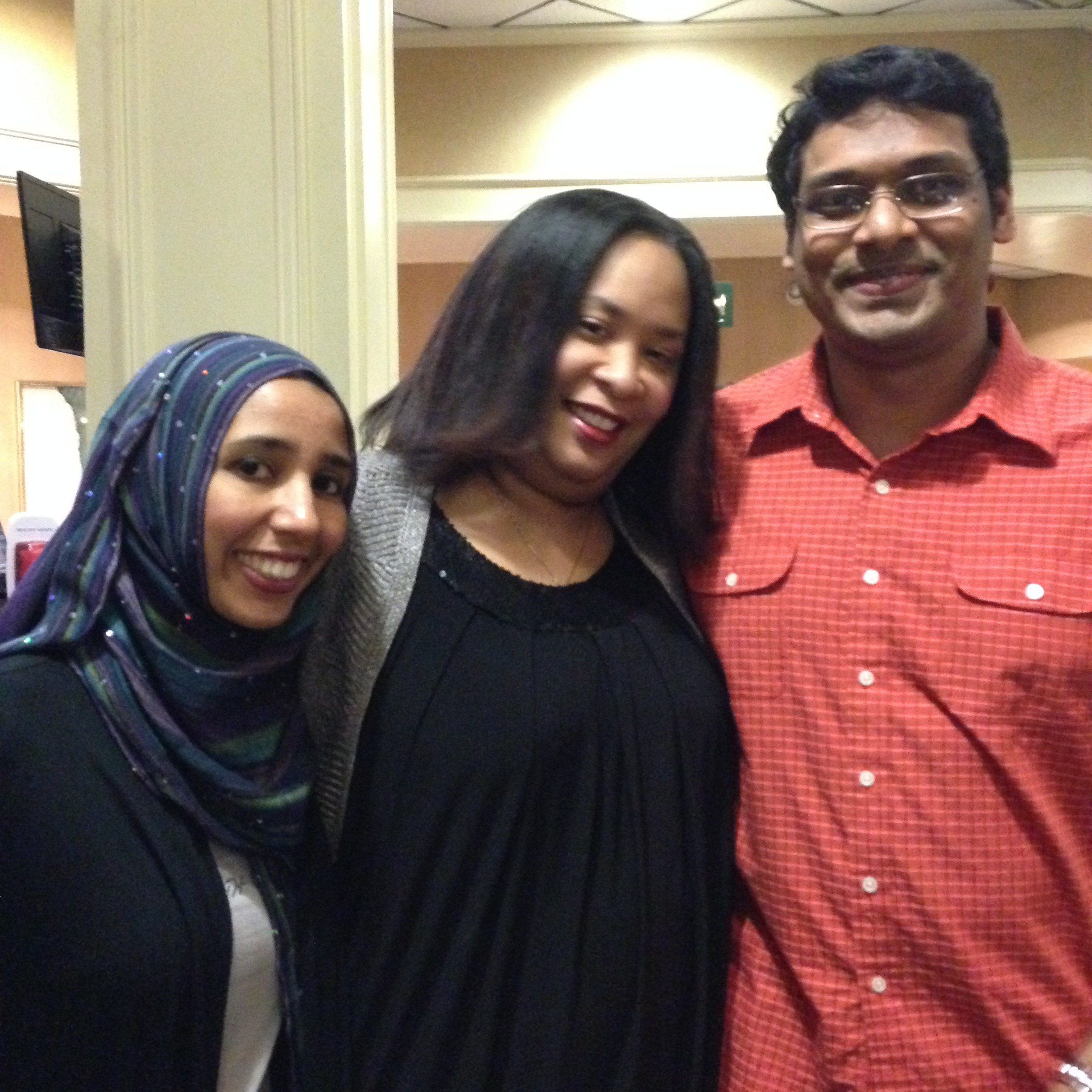 Aisha Khan, Trevanne Mathews, Hew Avinash
