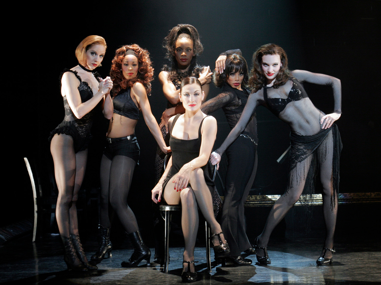 Terra C MacLeod as Velma Kelly and Merry Murderesses