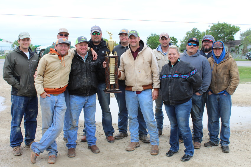 Yellow Fever (pictured) won the 14th annual Boomers catfish tournament over the weekend, capturing a total of 308 pounds of fish.