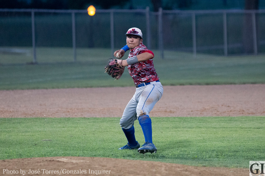 Freshman Xavier Arias was named District 27-3A Newcomer of the Year for baseball.