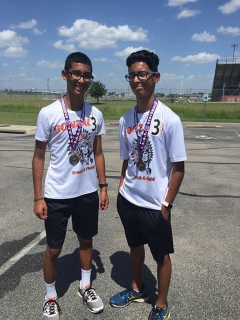 Avery and Avram Almaguer are just two of many Gonzales athletes who will be competing at the TAAF Summer Games for track and field this week.